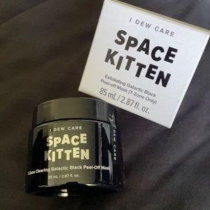 Space kitten peel off mask